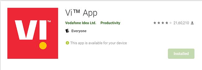 Vi App Vodafone